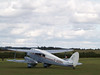 Another DH Rapide, at the same display, taxiing before taking off.