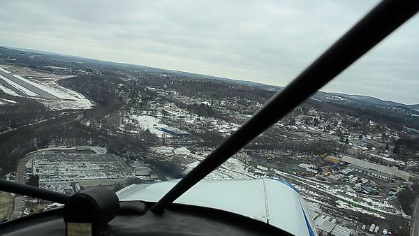 N3529G Landing in Runway 14 at KFIT (Fitchburg Municipal)