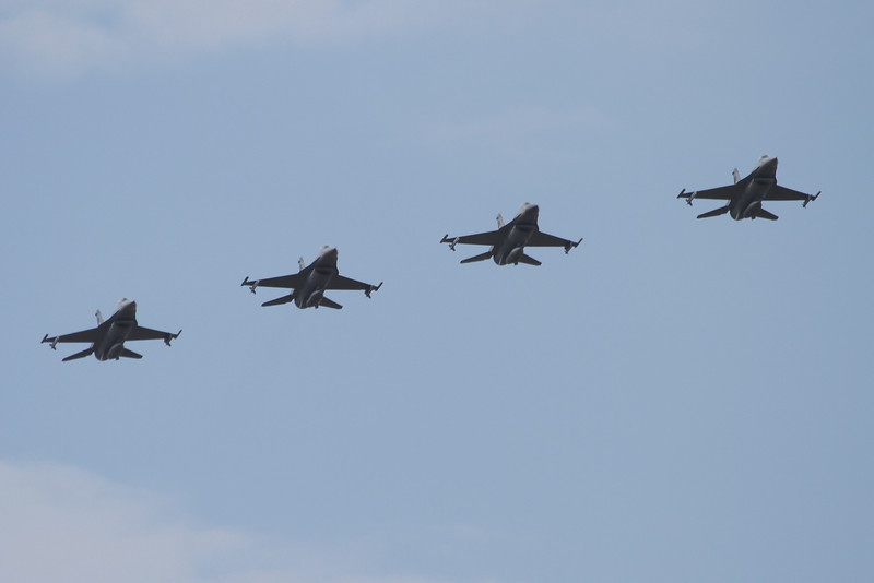 F-16's from the South Dakota national guard