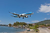 G-BYAY clearing the bay on final to Skiathos.