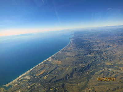 Looking north toward Dana Point and LA. Another beautiful day in SoCal.