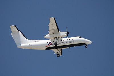 VH-QQG Skytrans Dash-8-100