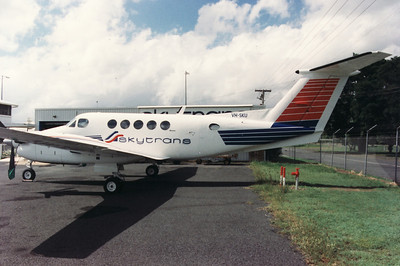 VH-SKU SKYTRANS KING AIR