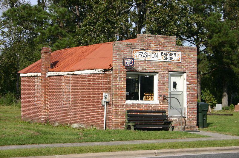 Barber Shop, Main St., Moncks Corner