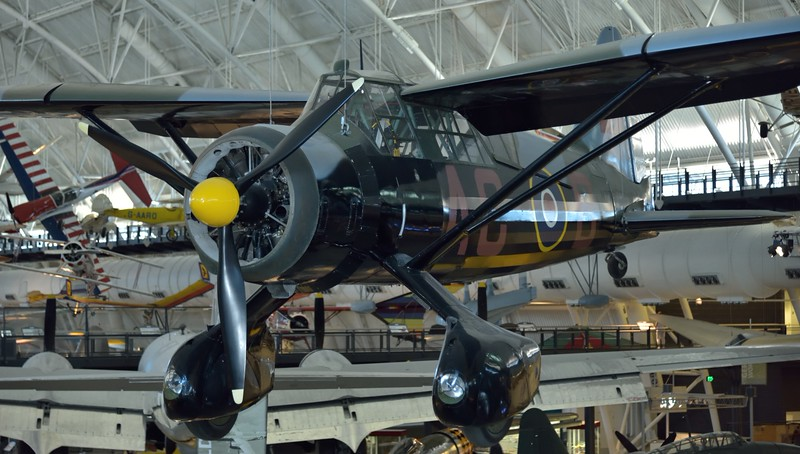 Westland Lysander IIIa<br /> This was a Canadian built example and is now painted in the colors of 138 Squadron RAF.<br /> <br /> Smithsonian Udvar- Hazy Center, Washington