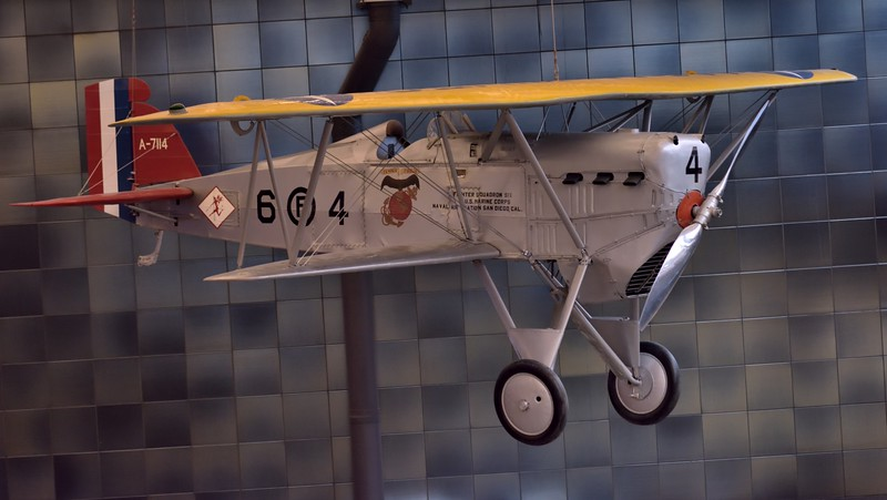 Boeing FB-5 Hawk<br /> U.S. Navy fighter of 1930s<br /> <br /> Smithsonian Udvar- Hazy Center, Washington