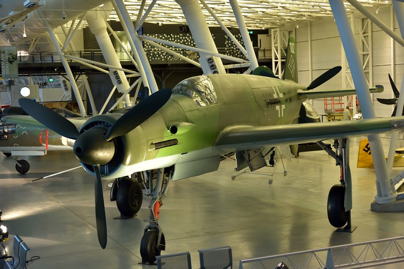 Dornier Do 335 A-0 Pfeil (Arrow)<br /> one of the fastest aircraft powered by a piston engine ever flown.<br /> <br /> Smithsonian Udvar- Hazy Center, Washington