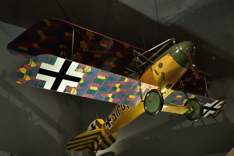 Albatros D.Va<br /> More than 4,000 Albatros fighters of all types were built during World War I. but only two have survived into preservation.<br /> <br /> Smithsonian Air & Space Museum<br /> Washington. DC