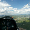 Approaching Elmira Corning Regional Airport (ELM) at 2000 feet.