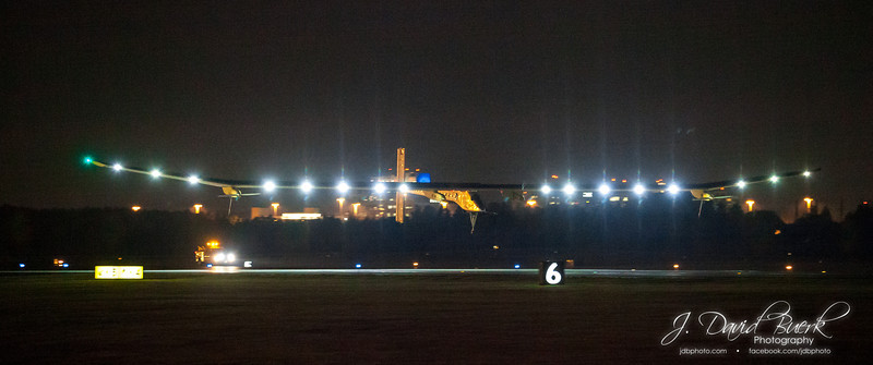 Solar Impulse at Dulles