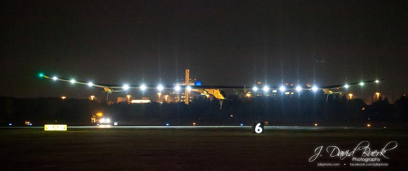 Solar Impulse at Dulles