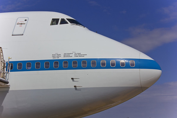 Space Shuttle Carrier Aircraft 747 Reference Photos