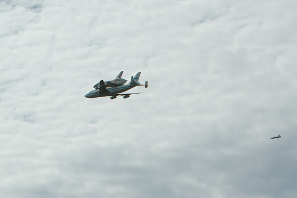 Space Shuttle Discovery Fly-In