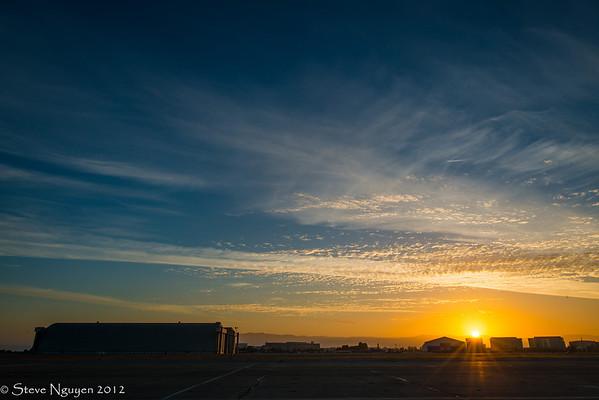Space Shuttle Endeavour Flyover NASA Ames