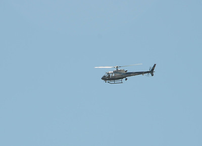LAPD Helicopter keeps a close watch