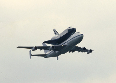 Space Shuttle at Heathrow
