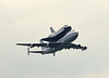 "Space Shuttle ""Enterprise"" on NASA B747-100, overflying Heathrow on 5th June 1983, en route to Stansted and then the Paris Air Show. Taken from the old AR1 radar head."
