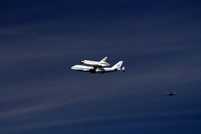 Endeavour Fly-by 2012