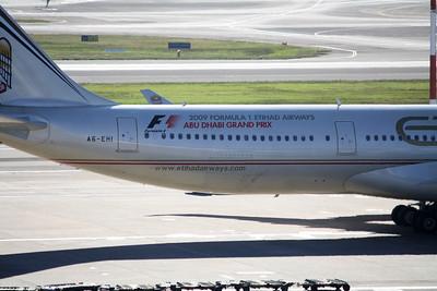 Etihad Airbus A340-600 A6-EHI Abu Dhabi Grand Prix