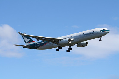 Cathay Pacific Airbus A330-343 B-LAD Cathay Pacific's 100th Aircraft