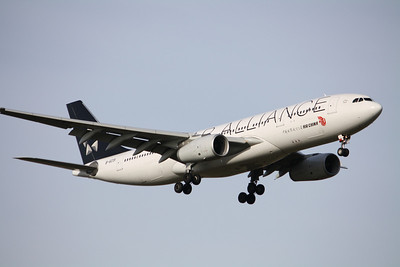 Air China Airbus A330-243 B-6091 Star Alliance
