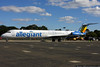 Allegiant MD-83 brought a college football team in for the weekend.