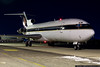 Phoenix Coyotes Boeing 727 prepares to depart.