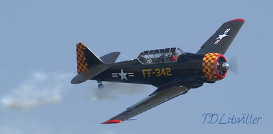 St. Petersburg Air Fest T-6 Texan