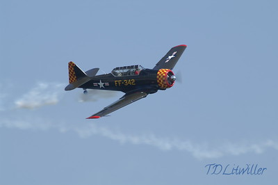 St. Petersburg Air Fest T-6 Texan