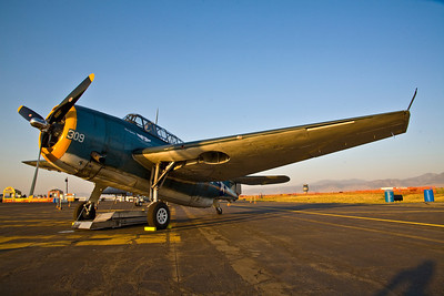 """Grumman TBM Avenger of the Commemorative Air Force """"Ghost Squadron"""""""