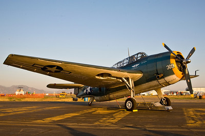 "Grumman TBM Avenger of the Commemorative Air Force ""Ghost Squadron"""