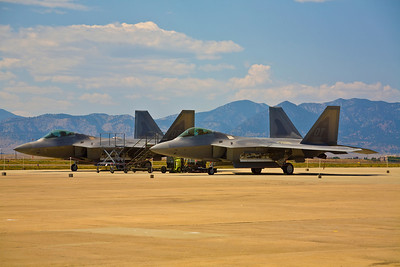 """Raptors at Rest"" - Lockheed Martin/Boeing F-22 Raptor"