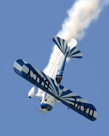 Stearman Model 75 - Dave Dacy - Wings over Waukegan - Waukegan, Illinois - September 6, 2014