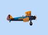 Stearman N68837  landing at Hollister (KCVH)