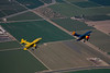 Two Stearmans over California's San Joaquin valley