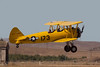Stearman N54173 landing at Hollister (KCVH)