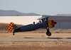 Stearman N7740C landing at Hollister (KCVH)
