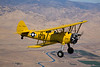 Stearman N54173 over the Coast Mountains of central Califronia.