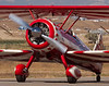Stearman N450SH taxing back - Hollister (KCVH)