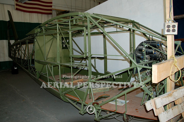 This Reliant gets a full restoration by The Historical Aircraft Group in Geneseo N.Y.