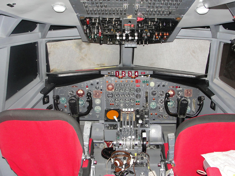 Boeing 707 instrument procedures trainer from TWA.