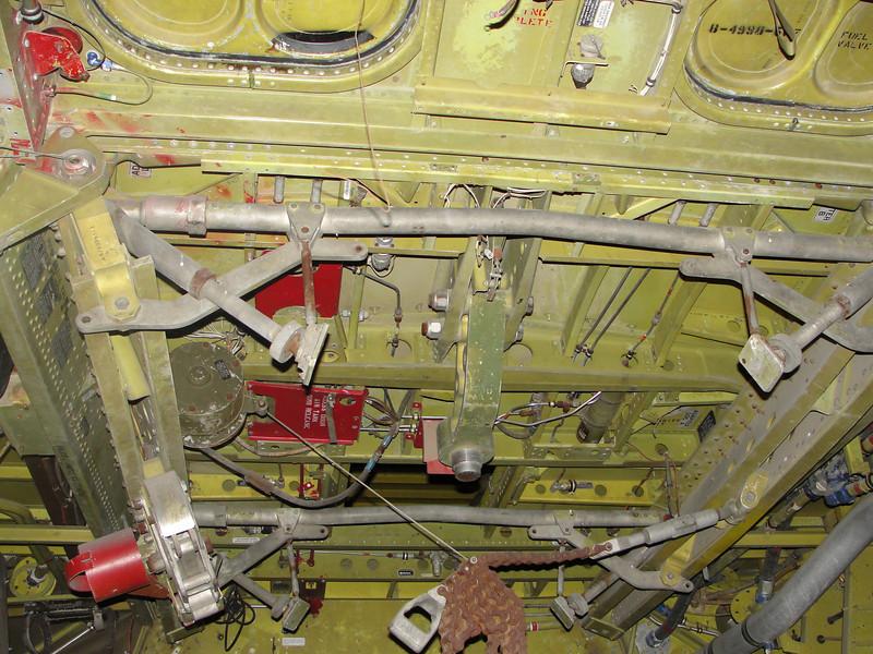 Bomb cradle detail.
