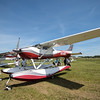 Cessna 182 Skylane on Wipline amphibs.