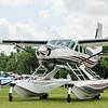 Cessna Caravan parking at Sun and Fun 2013.