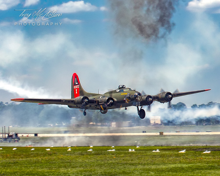 "B-17 ""Texas Raiders"" at Sun 'n Fun 2018, Lakeland, Florida"
