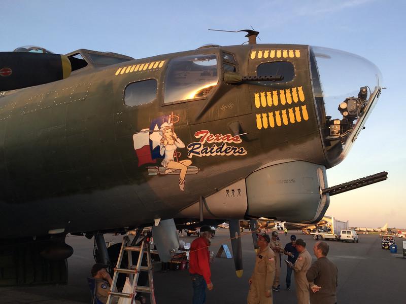 "CAF's B-17 ""Texas Raiders"""