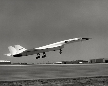 "The XB-70, ""Valkyrie"" well not ""Passanger"" but at least BIG.."
