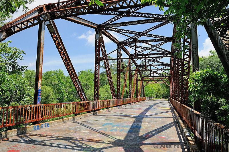 Old Suwannee River bridge