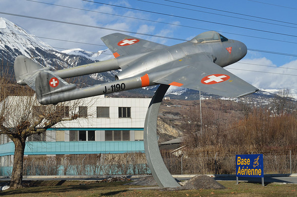 Swiss Air Force, Sion