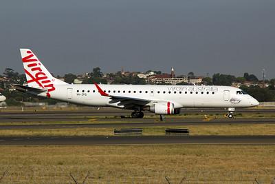 VH-ZPQ Virgin Australia Embraer ERJ 190-100